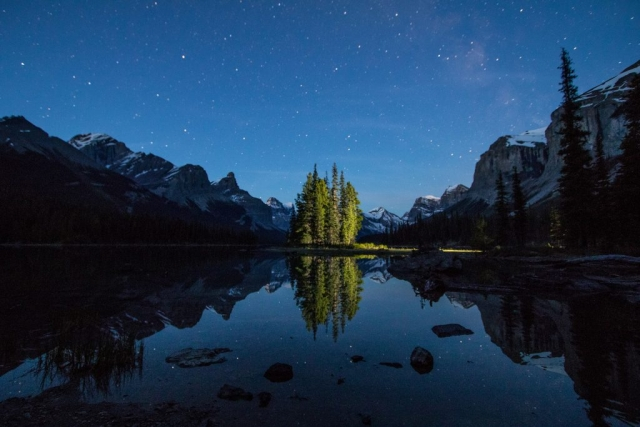 mike,gere,photo,photography,jasper,alberta,national,park,canada,maligne,lake,spirit,island,milky,way