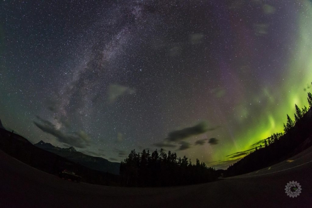mike,gere,photo,photography,jasper,alberta,national,park,churchill,manitoba,canada,aurora,auroras,northern,lights,milky,way,milkyway