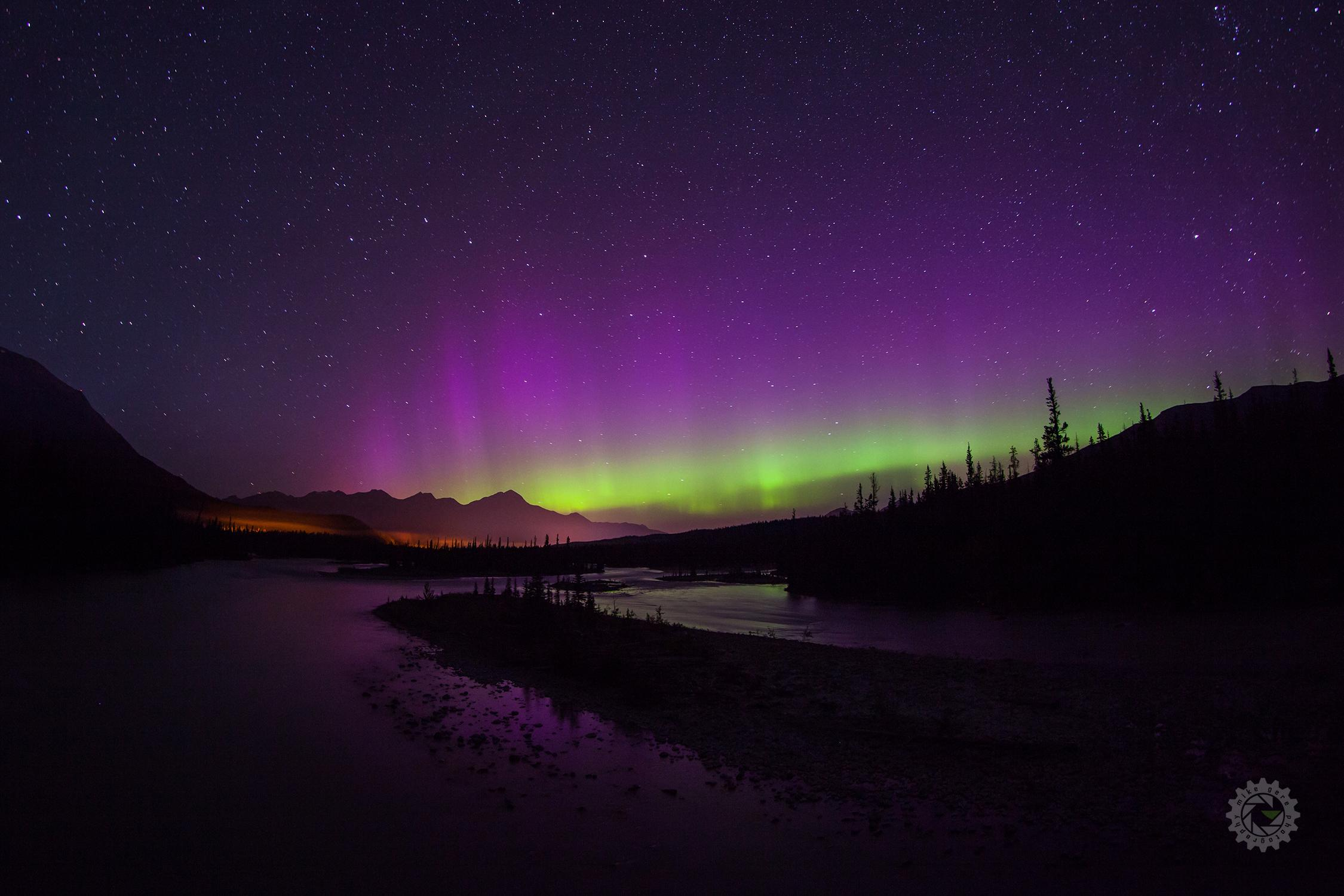 mike,gere,photo,photography,jasper,alberta,national,park,churchill,manitoba,canada,aurora,auroras,northern,lights