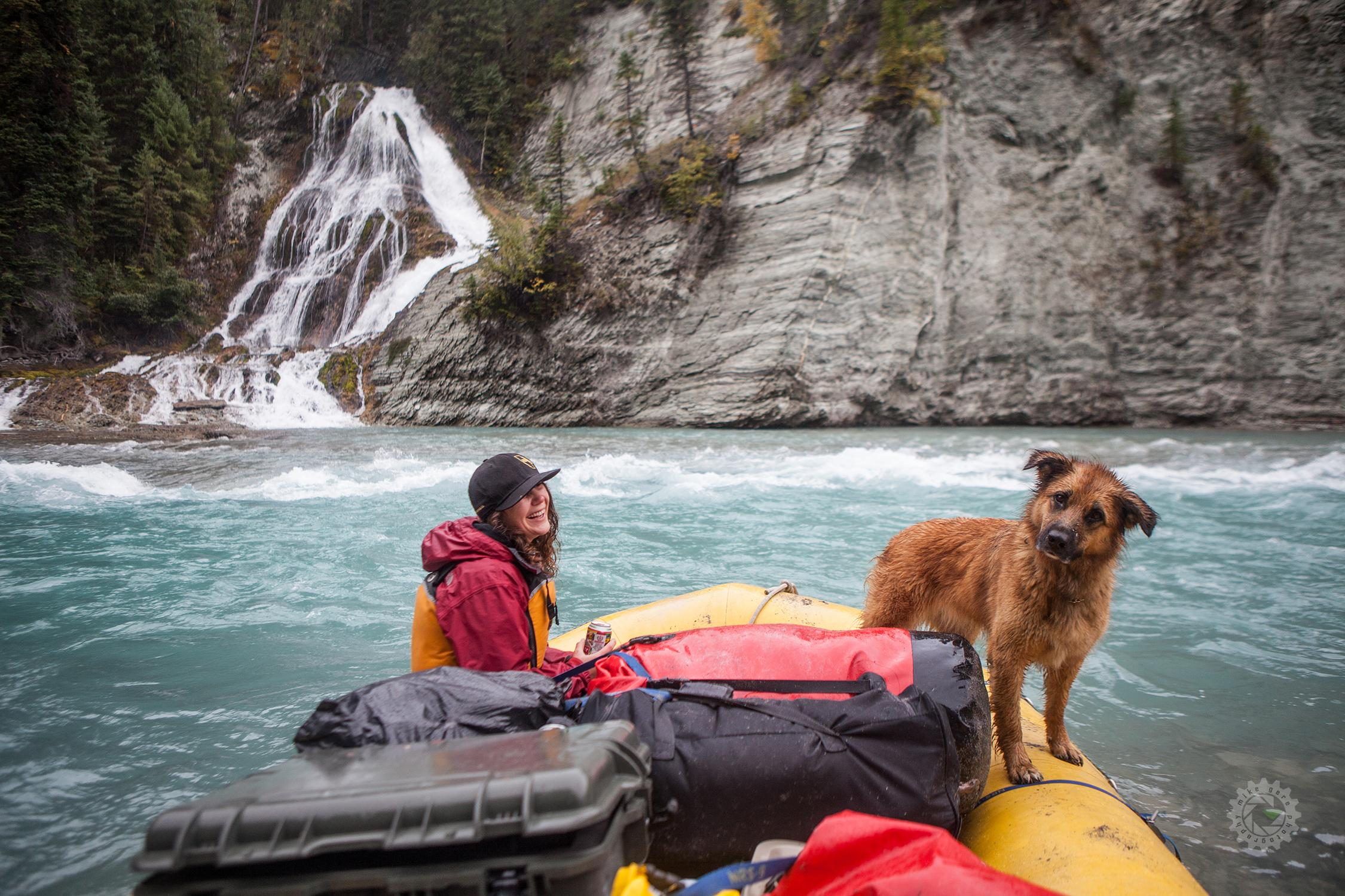 mike,gere,photo,photography,jasper,alberta,canada,adventure,kootenay,river,pedley,falls,raft,rafting,white,water,whitewater,dog,puppy